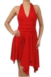 Latin Dress LADEMO 4230 Red