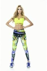 Babalú Supplex Leggings - Fire