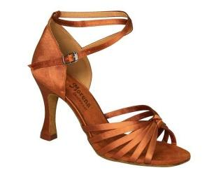 166405 Salsa & Latin Ladies Dance Shoes Choose from 100s of styles of Salsa and Latin shoes available from big variety of colors, heels, soles and fabrics. These shoes are made for dancing.