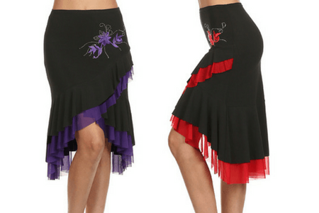 cat_photo_skirts-ladies Ladies Dancewear | Morena Dancewear Dance Dresses, Tops, Pants & Skirts Made From Durable & Breathable Materials. Perfect For Salsa, Ballroom, Latin & Tango Dancing. Big Selection.